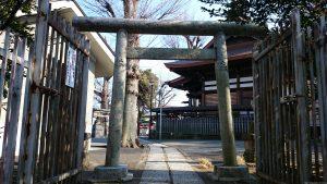 滝野川八幡神社 北側参道 鳥居