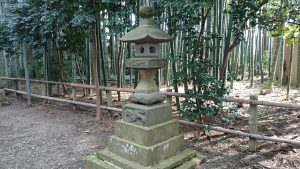 喜多見氷川神社 嘉永2年奉納石燈籠