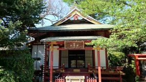 武蔵野稲荷神社 祭儀殿