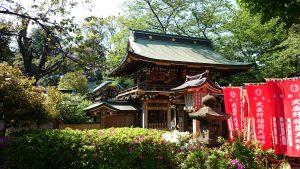 武蔵野稲荷神社 社殿全景