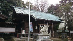 伊豆美神社 拝殿