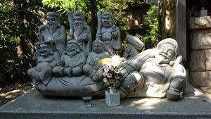 武蔵野稲荷神社 七福神像