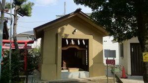 勝利八幡神社 旧社殿(世田谷区指定有形文化財) (1)