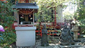武蔵野稲荷神社 馬頭観音・弁財天像
