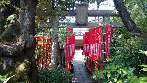 武蔵野稲荷神社 身代稲荷鳥居