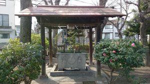 勝利八幡神社 手水舎