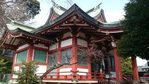 勝利八幡神社 拝殿