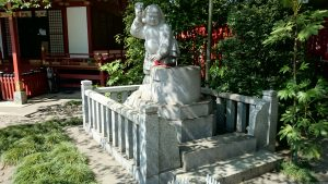 武蔵野稲荷神社 手水