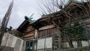 小日向神社 本殿