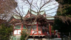 勝利八幡神社 社殿全景