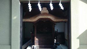勝利八幡神社 旧社殿(世田谷区指定有形文化財) (2)