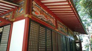 武蔵野稲荷神社 祭儀殿彫刻