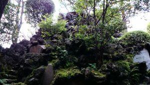 月見岡八幡神社 富士塚
