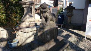 白髭神社(東向島) 狛犬 (2)