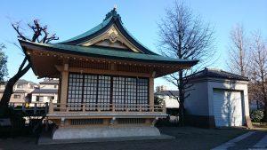 白髭神社(東向島) 神楽殿