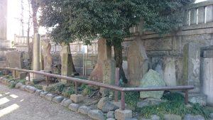 白髭神社(東向島) 石碑群