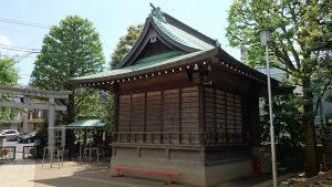 月見岡八幡神社 神楽殿