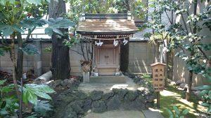 月見岡八幡神社 山頂小祠