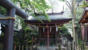 月見岡八幡神社 浅間神社