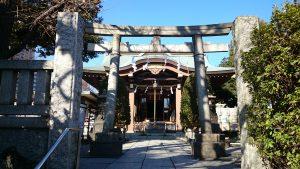 白髭神社(東向島) 二の鳥居