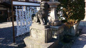 白髭神社(東向島) 狛犬 (1)