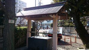 白髭神社(東向島) 手水舎
