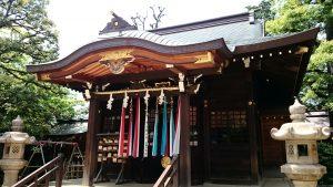 月見岡八幡神社 拝殿