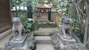 月見岡八幡神社 足王神社・道祖神社