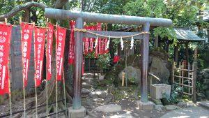 月見岡八幡神社 笑福稲荷神社 (1)
