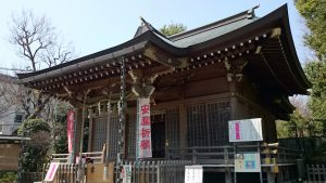 調布青渭神社 拝殿