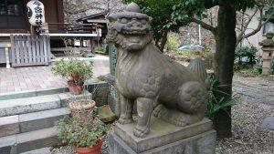 今宮神社 狛犬 (2)