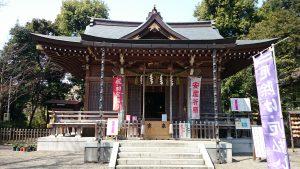 調布青渭神社
