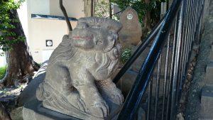 十条冨士神社 狛犬 吽