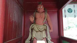 御岩神社 吽形