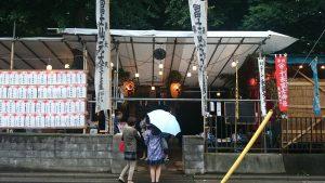 十条富士神社山開き