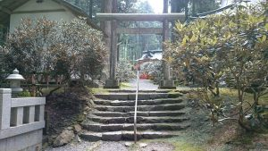 御岩神社 二の鳥居