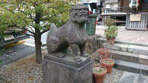 今宮神社 狛犬 (1)