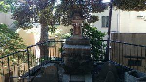 十条冨士神社 石祠