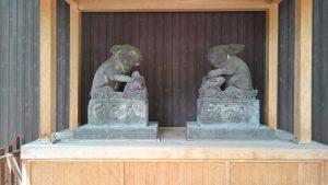 調神社 先代神使兎