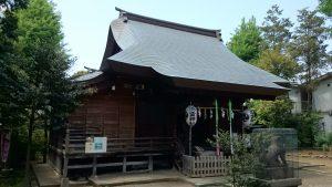 中井御霊神社 拝殿