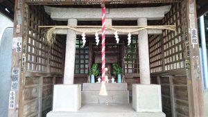 元富士神社(駒込富士神社旧地) 社殿