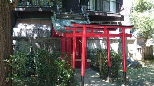 駒込天祖神社 鎮火稲荷神社 (1)