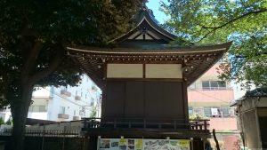 駒込天祖神社 神楽殿