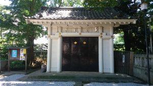 駒込天祖神社 神輿庫