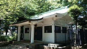 駒込富士神社 拝殿