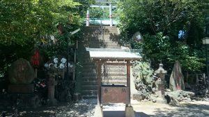 駒込富士神社 参道石段