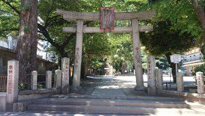 駒込富士神社 鳥居
