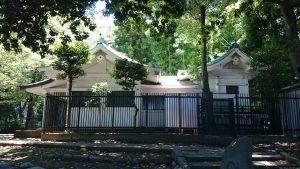 駒込富士神社 社殿全景
