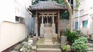 元富士神社(駒込富士神社旧地)