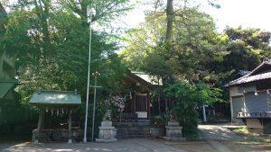 葛谷御霊神社 社殿